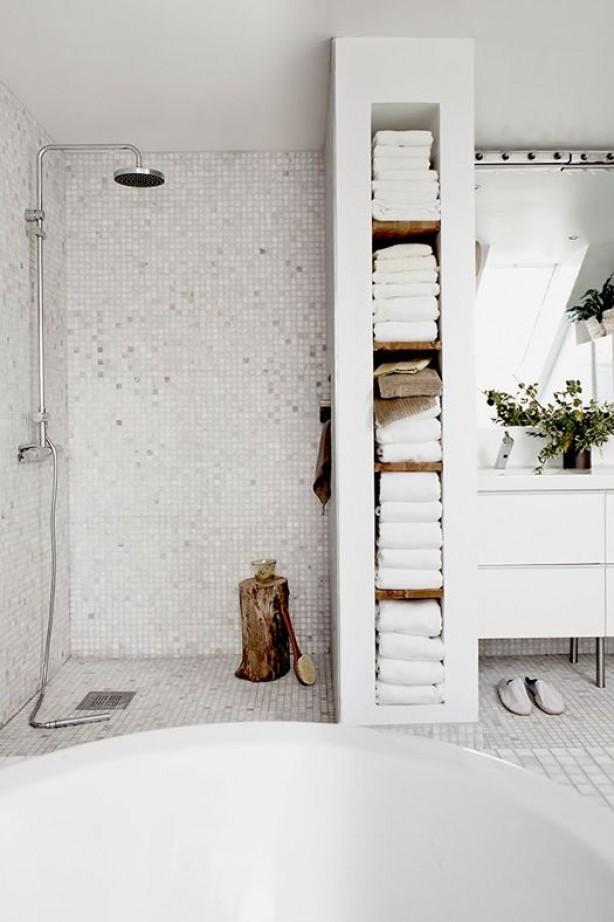 Artikel: Mehr Raum und Ordnung im Badezimmer. 10 Tipps. auf Spaaz.de