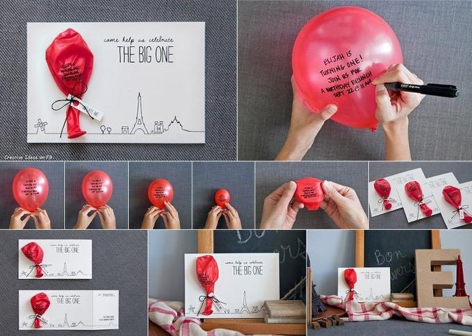 Originelle Idee Fur Eine Einladung Zum Geburtstag Foto Veroffentlicht Von Grossstadtkind Auf Spaaz De
