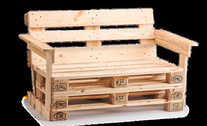 Relativ Gartenmöbel aus Europaletten selber bauen mit Bauanleitung für XM23
