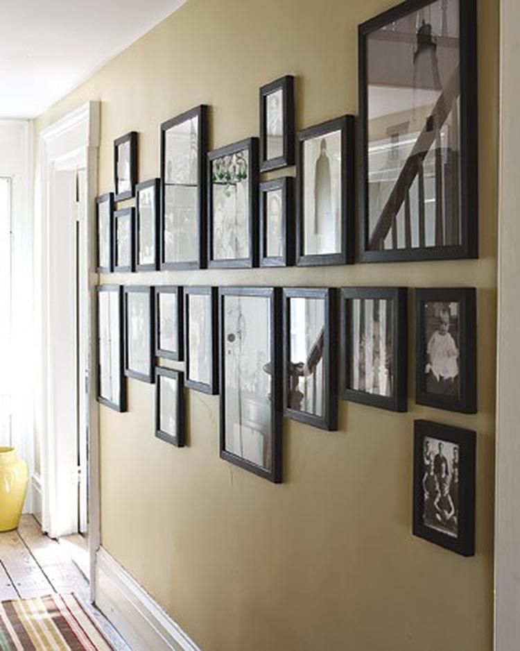 GroBartig Das Ist Eine Tolle Wandgestaltungs Idee Für Unsere Kahle Wand Im  Wohnzimmer. Durch Den