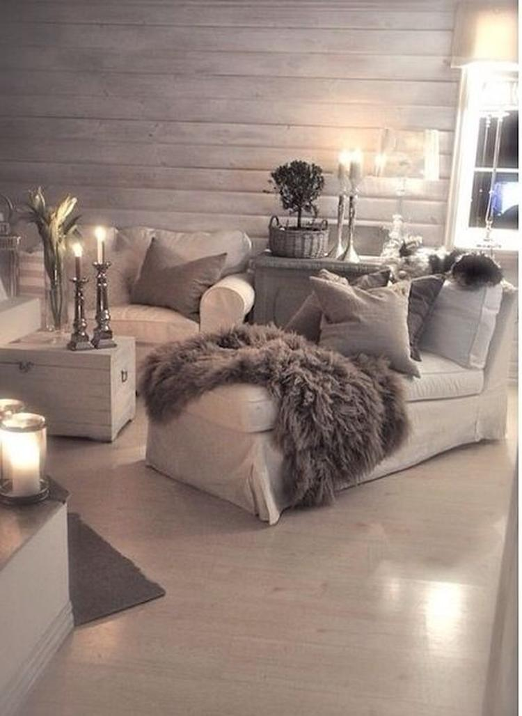 Schönes und gemütliches Wohnzimmer. Foto veröffentlicht von ...