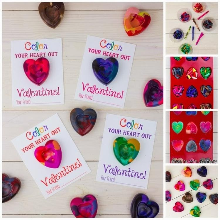Schöne Bastelidee Für Kinder Nicht Nur Zum Valentinstag Sondern Auch Zum  Muttertag Oder Vatertag
