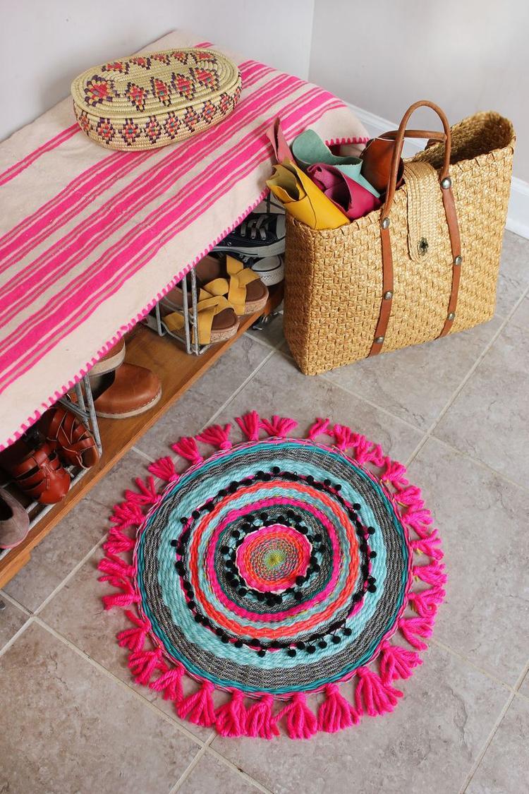 So Einfach Kann Man Selber Einen Teppich Weben Foto Veroffentlicht