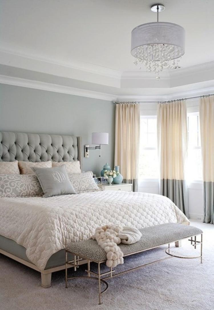 So Ein Romantisches Schlafzimmer Hätte Ich Auch Gerne. Ein Traum Diese  Zarten Farben Und Das
