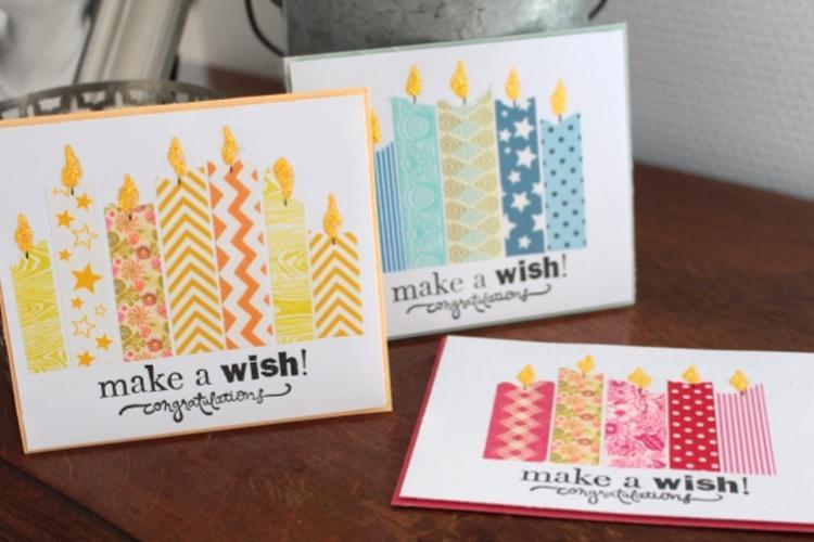 Tolle Geburtstagskarte Zum Selber Machen Und Total Einfach. Alles Was Man  Dafür Braucht Ist Papier