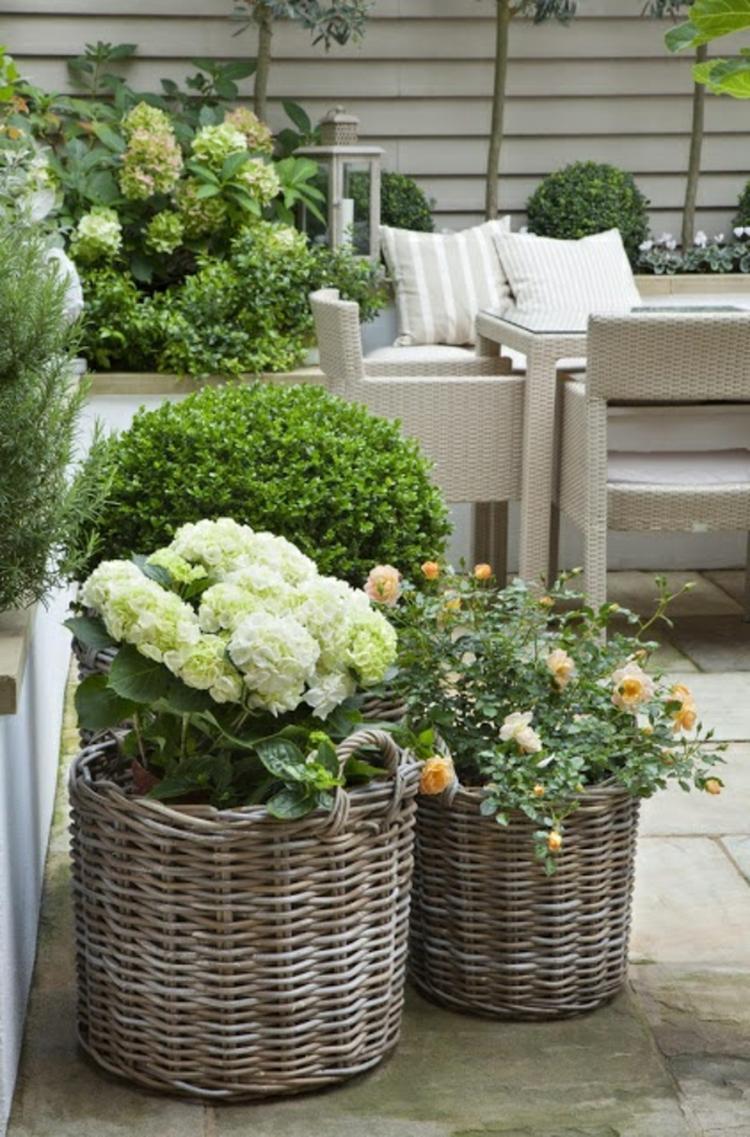Schöne Terrassen schöne frühlingsdeko für die terrasse foto veröffentlicht