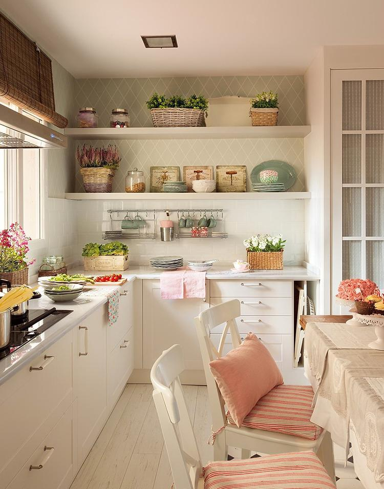 Noch Eine Küche Im Landhausstil. Foto Veröffentlicht Von