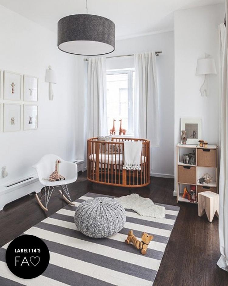 Modernes Babyzimmer modernes babyzimmer im skandinavischen look foto veröffentlicht