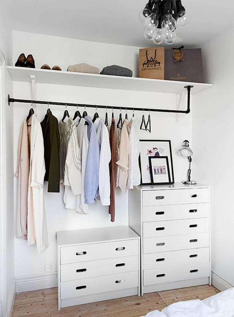 Elegant Alternative Zum Geschlossen Kleiderschrank Und Ganz Einfach Selber Zu Bauen