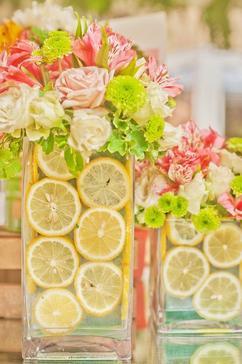Einfache tischdeko zum selber machen  Fotoalbum: Einfache Tischdeko Gartenparty, erstellt von Bluemchen ...