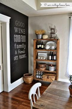 Tolle Idee Für Eine Freie Wand In Der Küche. Ich Liebe Diesen Riesen  Tafelwände Die