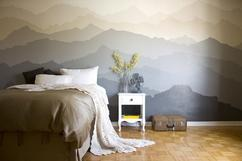 Ideen Zum Schlafzimmer Streichen. Gelangweilt Von Der Langweiligen Weißen  Wand? Think Out Of The Box Und Streich Die Wand