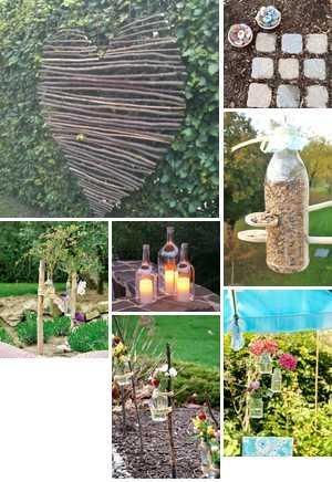 AuBergewohnlich Schöne Und Günstige Gartendeko Selber Machen