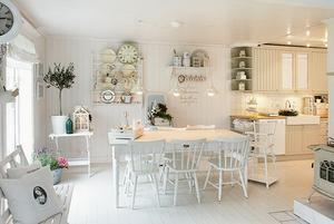 Deko Ideen Landhausstil 93_10 Helle Küchen Esszimmer Einrichtungsidee. Foto  Veröffentlicht Von Korti Auf Spaaz.de